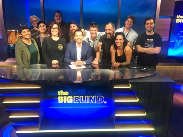The Big Blind production crew